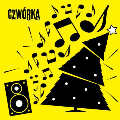 grafika towarzysząca konkursowi świątecznemu w radiowej Czwórce